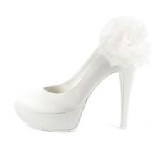 AMARANTA FIORE • Stella Blanc: wedding shoes Made in Italy