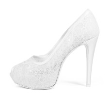 ASTRO • Stella Blanc: wedding shoes Made in Italy