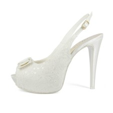 CAMELIA • Stella Blanc: wedding shoes Made in Italy