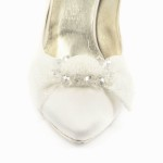 ERICA fiocco • Stella Blanc: wedding shoes Made in Italy