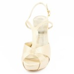 GARDENIA T110 • Stella Blanc: wedding shoes Made in Italy