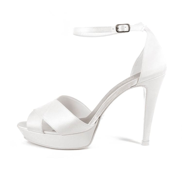 GIGLIO T100 • Stella Blanc: wedding shoes Made in Italy