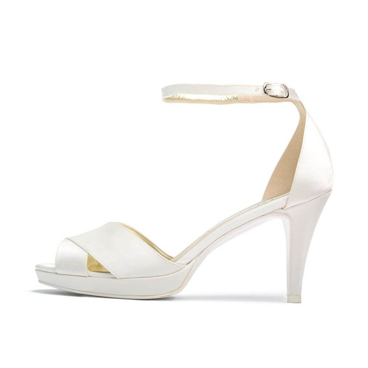 GIGLIO T75 • Stella Blanc: wedding shoes Made in Italy