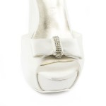 ROSA Fiocco • Stella Blanc: wedding shoes Made in Italy