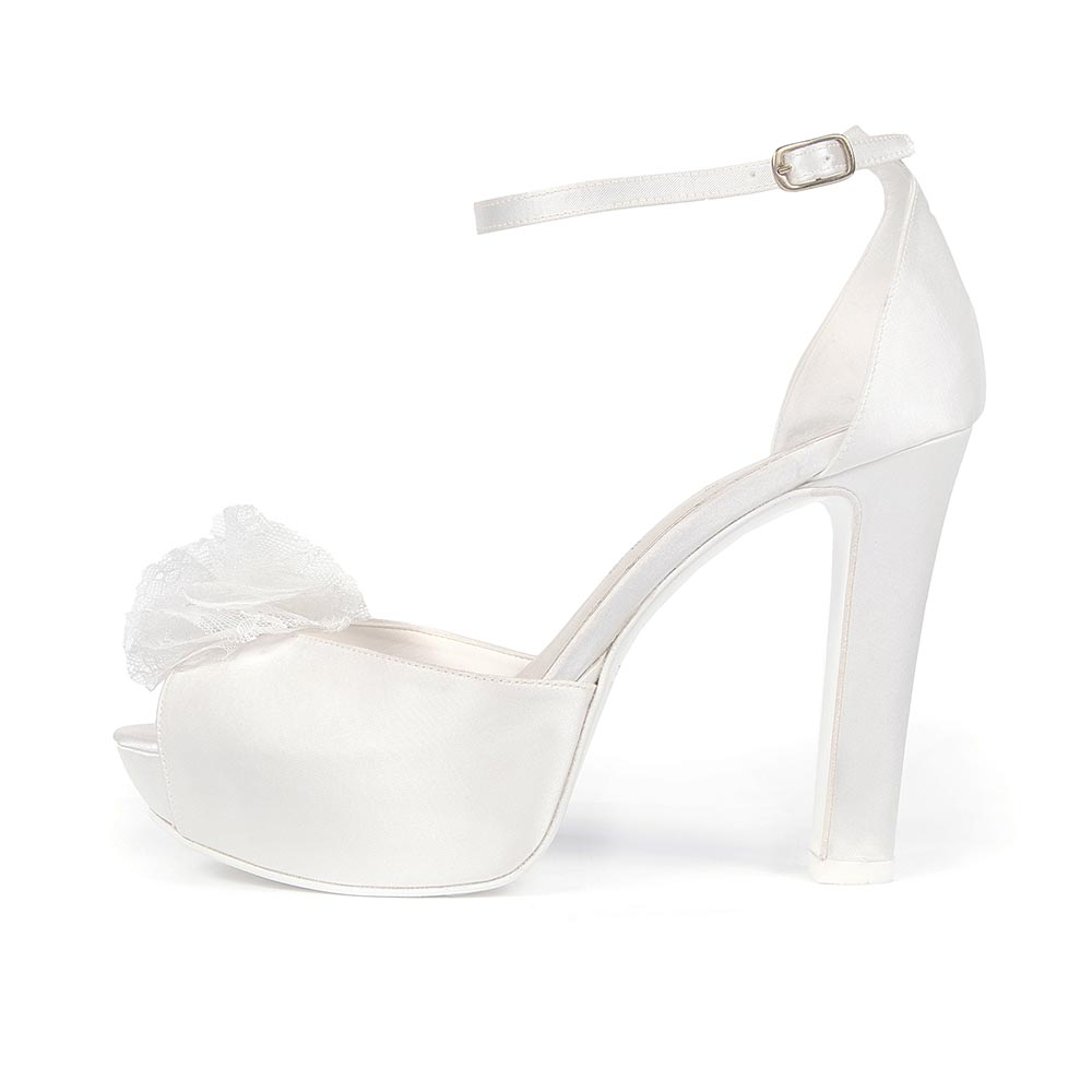 AMARYLIS • Stella Blanc: wedding shoes Made in Italy