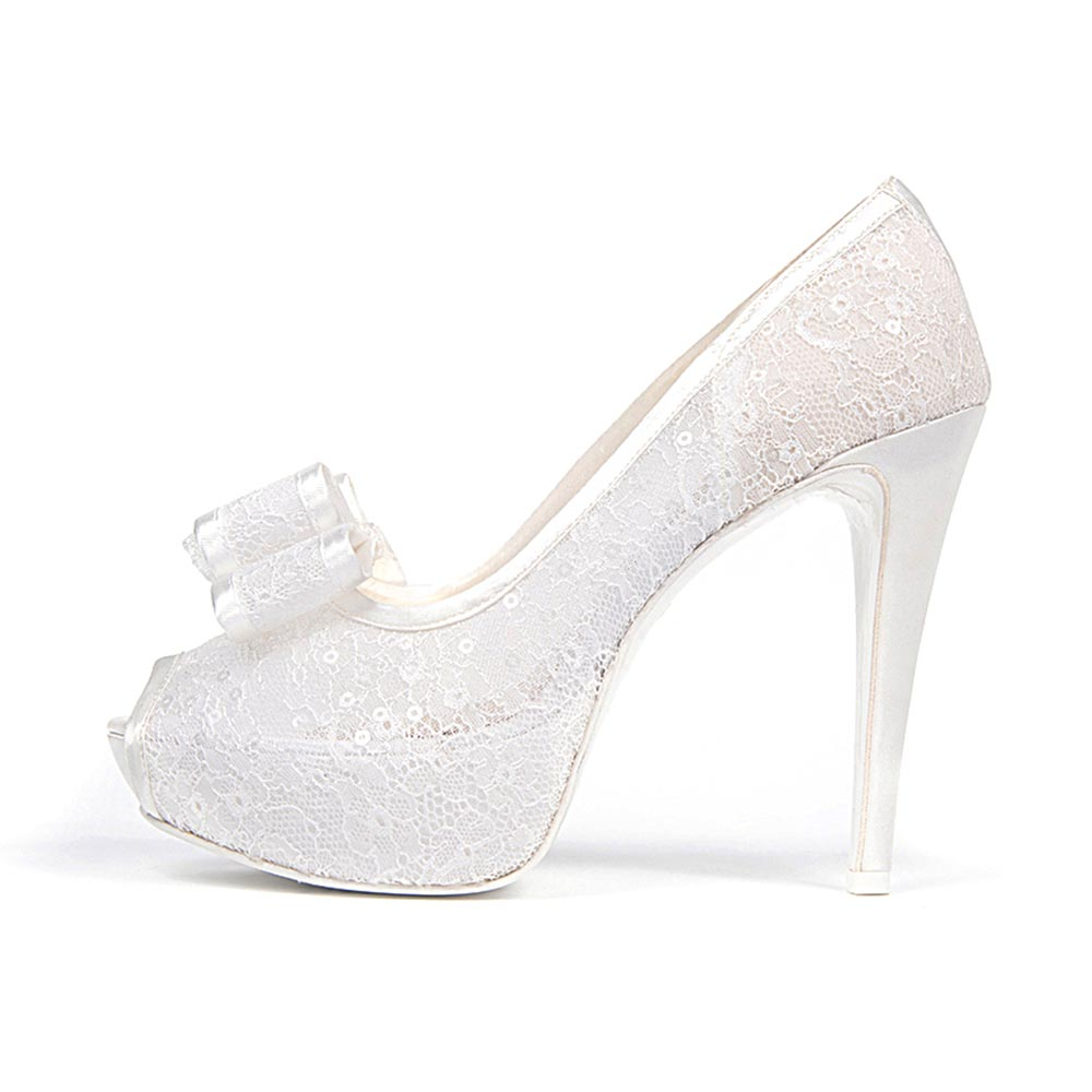 ASTRO FIOCCO • Stella Blanc: wedding shoes Made in Italy