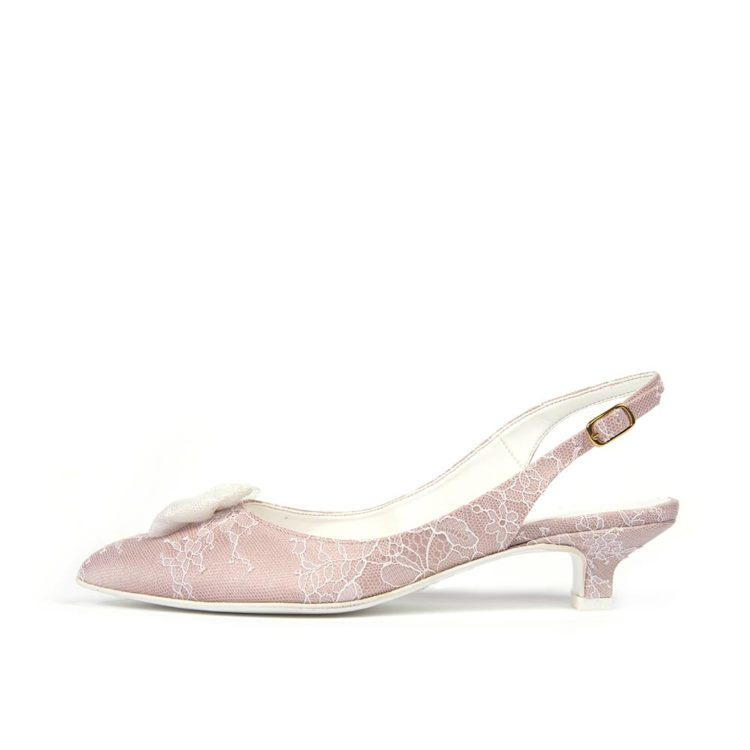 ERICA T30 • Stella Blanc: wedding shoes Made in Italy