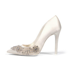 GIRASOLE • Stella Blanc: wedding shoes Made in Italy
