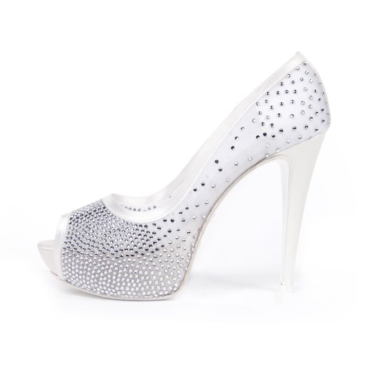 PRIMULA • Stella Blanc: wedding shoes Made in Italy