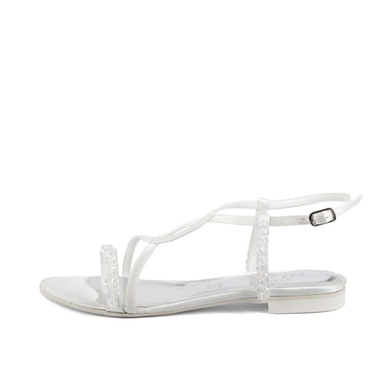 AZALEA CRISTAL • Stella Blanc: wedding shoes Made in Italy