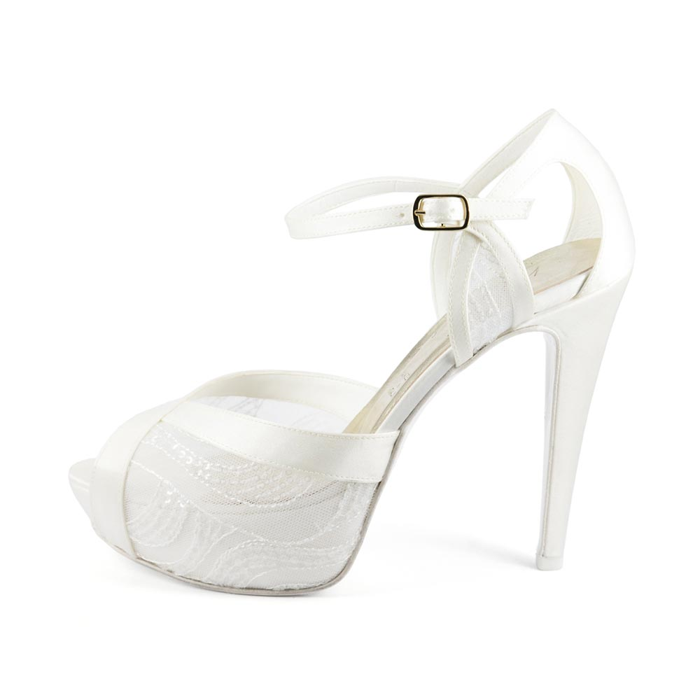 CRISTALLO • Stella Blanc: wedding shoes Made in Italy