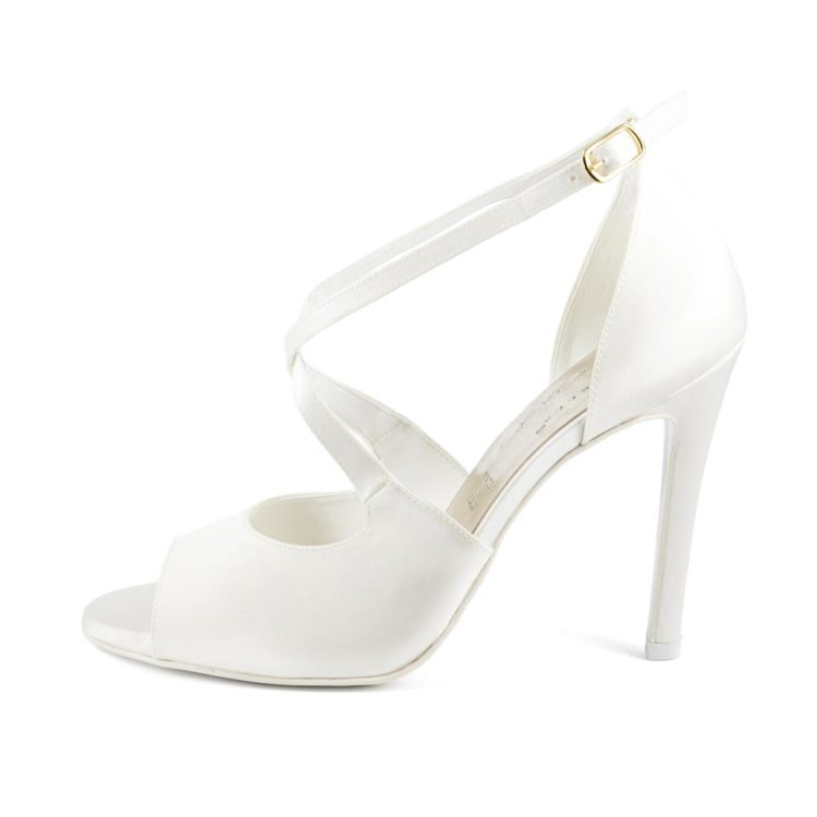 EDEN • Stella Blanc: wedding shoes Made in Italy