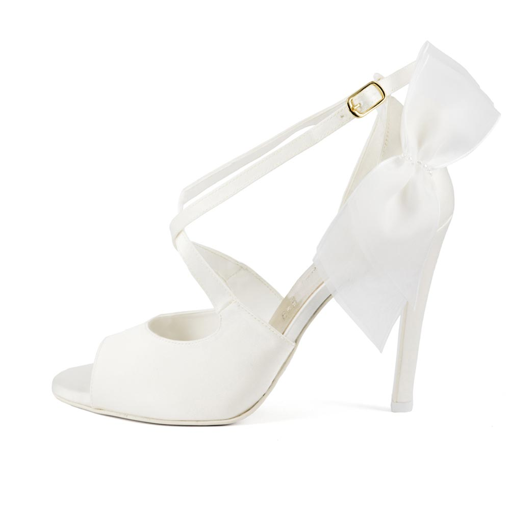 EDEN FIOCCO • Stella Blanc: wedding shoes Made in Italy