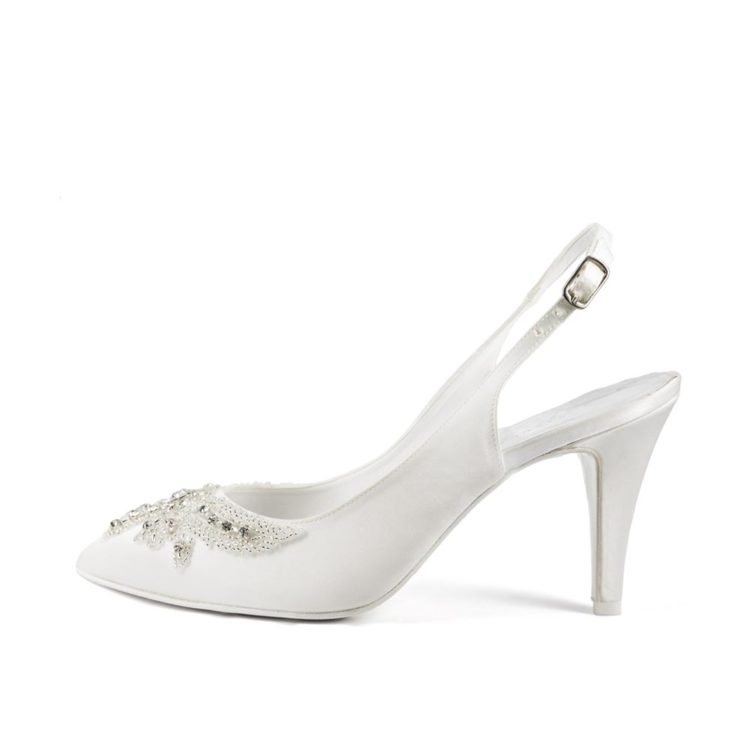 ERICA P • Stella Blanc: wedding shoes Made in Italy