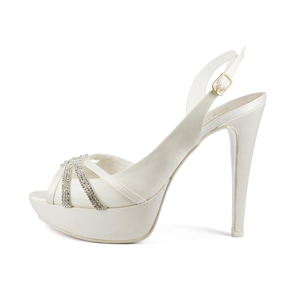 EVA • Stella Blanc: wedding shoes Made in Italy