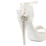 FIORDALISO dettaglio • Stella Blanc: wedding shoes Made in Italy
