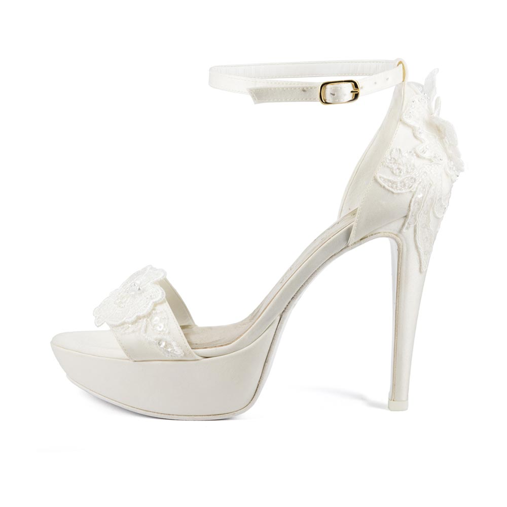 FIORDALISO • Stella Blanc: wedding shoes Made in Italy
