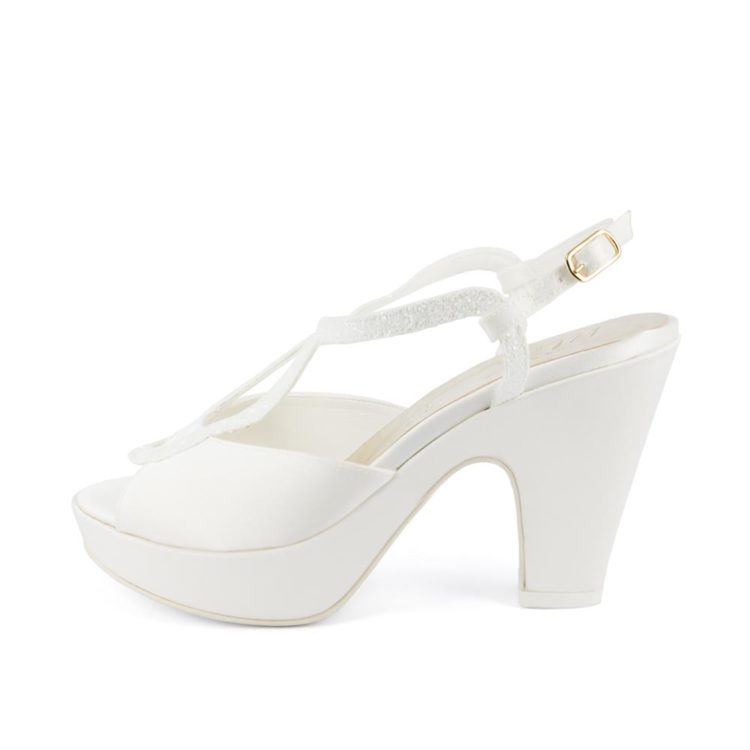 FLORA • Stella Blanc: wedding shoes Made in Italy