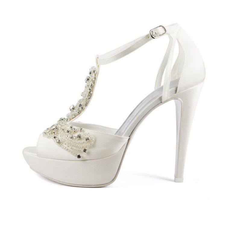 GIOIELLO • Stella Blanc: wedding shoes Made in Italy