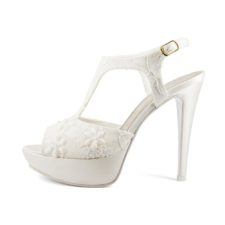 VIOLA PIZZO • Stella Blanc: wedding shoes Made in Italy
